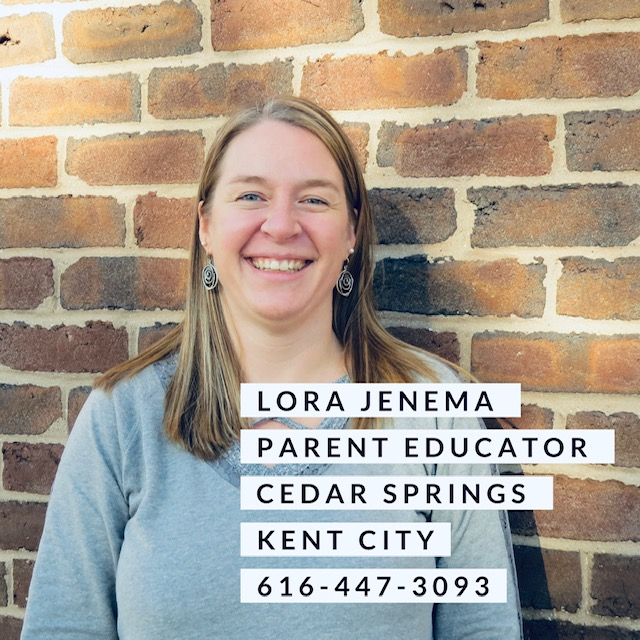 Lora jenema parent Educator Cedar Springs and Kent City 616-447-3093