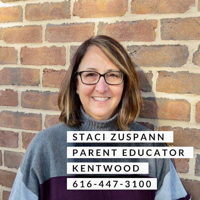 Staci Zuspann parent educator kentwood 616-447-3100