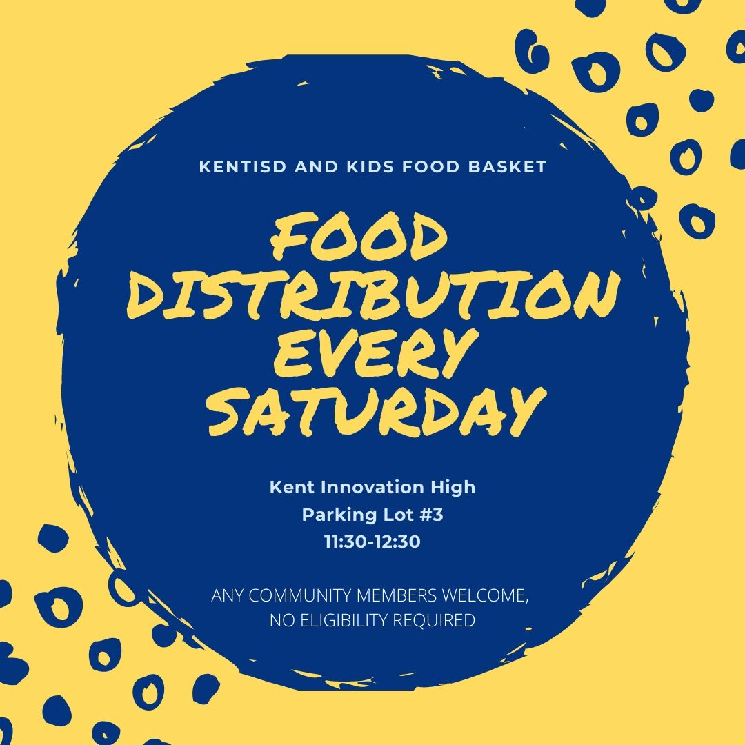 Information about Food Distribution on Saturdays