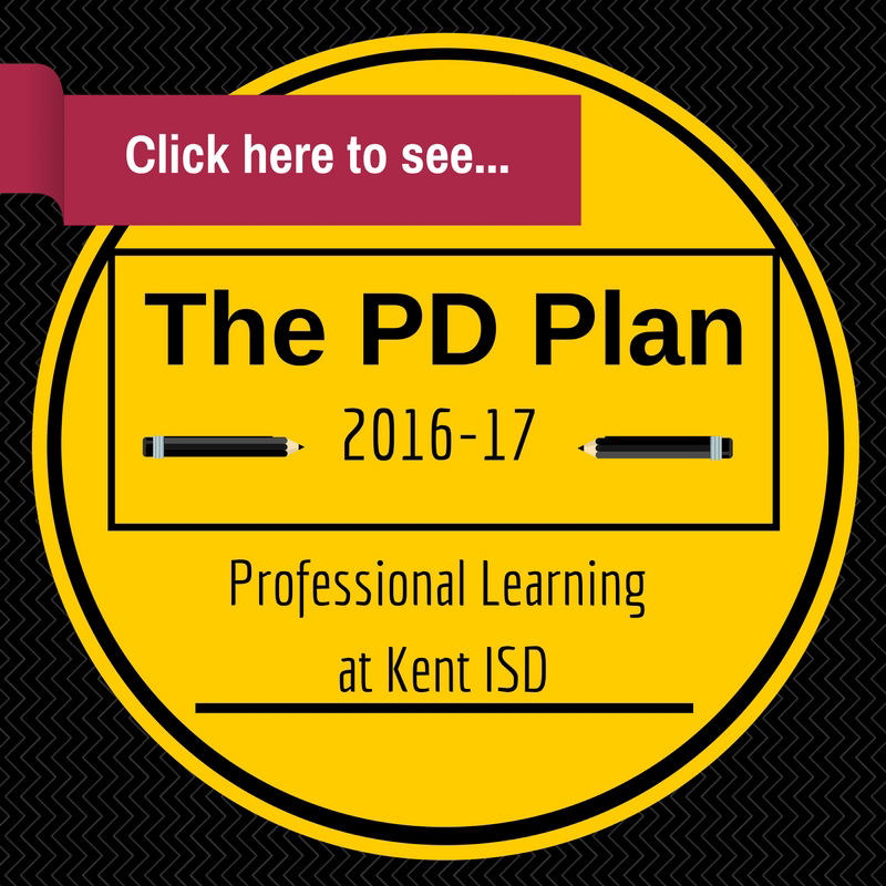 Click here to see the 2016-2017 Kent ISD's Professional Development Plan