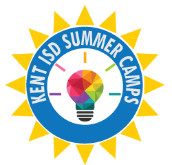 Kent ISD Summer camp graphic